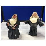 Pair of Happy Habits Figurines by Deb Wood