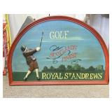 England Golf Themed Wall Decoration #1