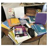Large collection of school supplies