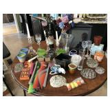 Large collection of Candles/Candle Holder & more