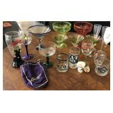 Collection of Drink Ware including Kim Casali