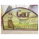 England Golf Themed Wall Decoration #2