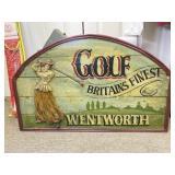 England Golf Themed Wall Decoration #3