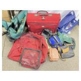 Collection of Luggage and Bags