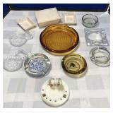 Collection of Vintage Ashtrays/Trinket Holders