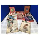 Vintage Magazines and Novels
