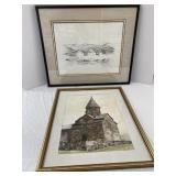 Fred Heddleson Signed and Numbered Print and More
