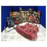 Collection of Vera Bradley Handbags