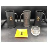 Playboy Bunny Steins, Ashtray and Wine Glass