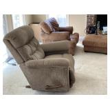 """""""Frankenstein"""" Chair with Ottoman and Recliner"""