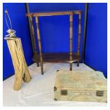 Wooden Side Table and More