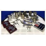 Collection of Pewter and more