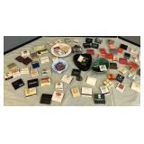 Vintage Matchbooks & Ashtrays/Trinket Trays