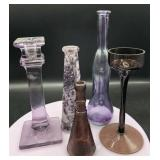 Shades of Purple Glassware and more