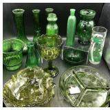 Pressed Glass, Vintage Bowls, Vases and more