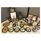 Collection of Picture Frames, Silhouette, and more