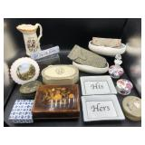 Collection of Trinket Boxes, Collectibles & more