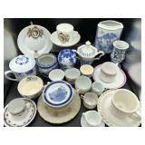 Collection of Teacups/Saucers & more