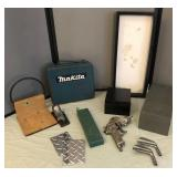 Collection of Metal Boxes, Diamond Tread & more
