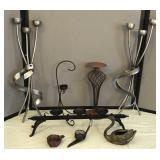 Collection of Candle Holders