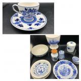 Delft Blue, Blue & White/Ivory Plates & More