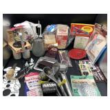 Large collection of vintage kitchen items