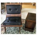 Mid-Century Modern Chair & Table