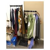 Clothing Rack w/ Assortment of Clothes