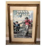 Vintage Johnnie Walker Framed and Matted