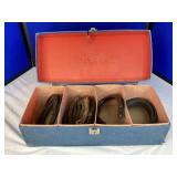 Vintage box w/ Horseshoes