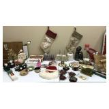 Collection of modern & vintage Christmas Items