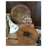 Wooden Platters and more
