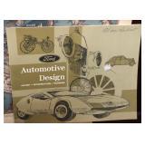 Rare Vintage Ford Automotive Design