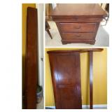 Queen Sleigh Bed with Matching Nightstand