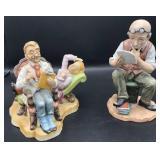 Lefton Figurine and Pucci Figurine