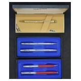 3 pcs. Sheaffer Pen & Pencil Set & 1 Gold Fill Pen