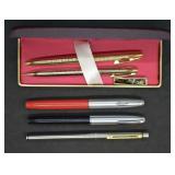 5 pcs. Vintage Sheaffer Pens
