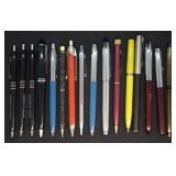 16 pcs. Vintage Ink Pens - Mostly Sheaffer
