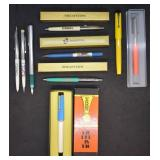 9 pcs. Vintage Sheaffer, Parker & Waterman Pens