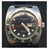 Vintage Caravelle Automatic Diver Watch