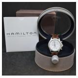 Hamilton Quartz Chronograph Watch