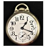 Antique 1918 ELGIN B.W. Raymond Pocket Watch