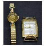 14k Gold & 10k Gold Fill Vintage Watches