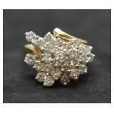14k Gold 1.5ct Diamond Ring