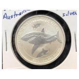 2014 AUSTRAILIA - 1/2 OZ SILVER  GREAT WHITE SHARK