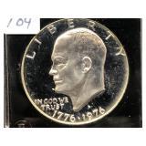 1976-S EISENHOWER DOLLAR - PROOF SILVER