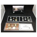 2013 US MINT SILVER PROOF SET - 14 COIN SET