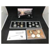 2014 US MINT SILVER PROOF SET - 14 COIN SET