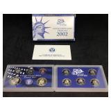 2002 US MINT PROOF SET - 10 COIN SET