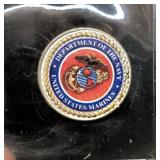 US MARINE CORPS COLORIZED COIN
